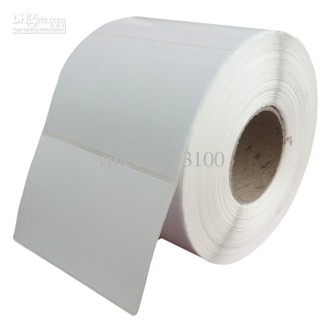 90*40mm*Thermal transfer blank barcode Labels,art paper adhesive printed label sticker,