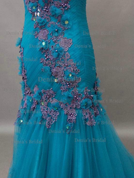 2013  green evening dresses 1512