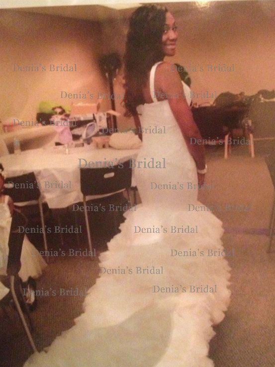 2013 kim Kardashian mermaid wedding dresses by vera wang