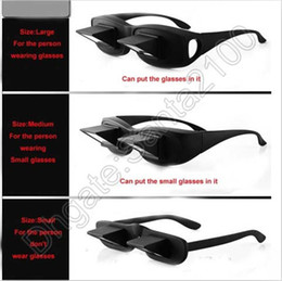 Wholesale Lay Down Reading Glasses - 1pcs Lazy Glasses Reading Lying Flat High Definition Horizontal Novelty Lie Down On Your Bed Periscope