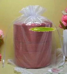 White organza bags draWstring online shopping - Hot White Organza Gift Bags x23cm With Drawstring