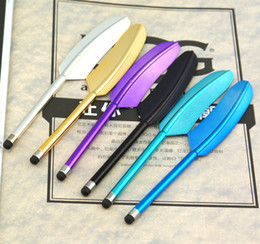 Lenda Pena Universal Stylus Touch Pen para iPhone 3GS 4G 4S iPod iPad 50pcs Colorido