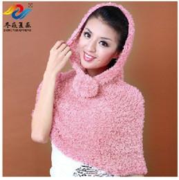 Wholesale Wrap Poncho Wool - Super Elastic Soft Scarf Shawl Fashion Style Autumn Winter Fiber Wool Collar Neck Warmer Scarves Free Shipping