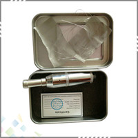 Wholesale Did Tanks - Vaporizer Atomizer DID tank Stainless Steel Cobra Genesis DID Rebuildable Clearomizer