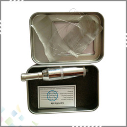 Wholesale Did Atomizers - Vaporizer Atomizer DID tank Stainless Steel Cobra Genesis DID Rebuildable Clearomizer