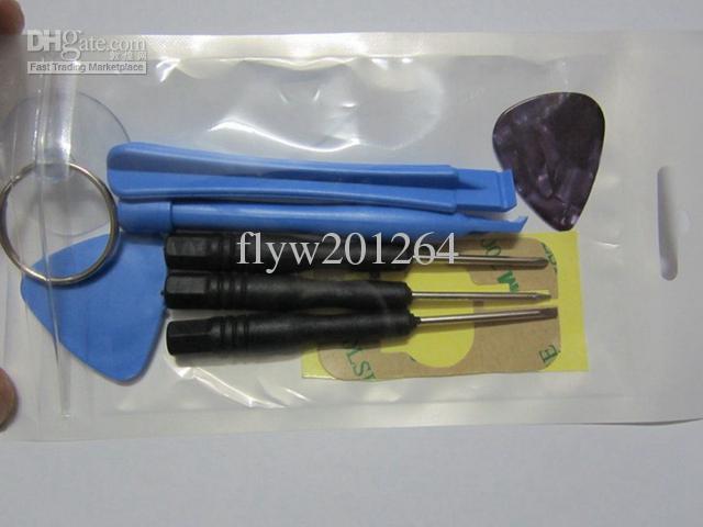 9 en 1 conjunto de herramientas de apertura del juego de palanca Conjunto de reparación especial establecido para el iPhone 6 4 4S 5 5S Envío libre de DHL, /