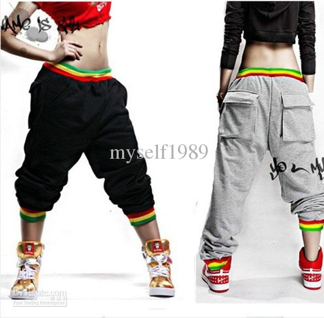 2019 Fashion Womens And Mens Unsex Casual Harem Jogging Pants Hip Hop Dance Sports Trousers Baggy Girls Ladies SweatPants Jogger Boys Slacks From