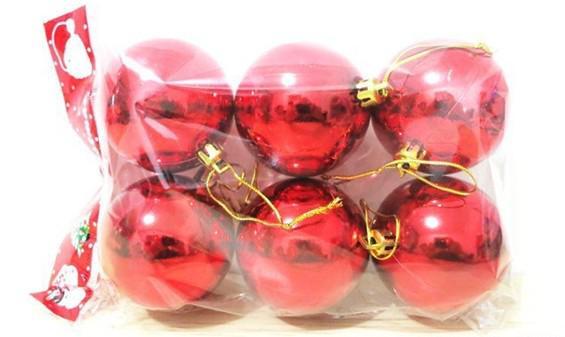Blanda färger 3cm 4cm 6cm 3cm matt färg julkula laser ljusa bollar för julgran dekoration nytt år adornos navidad
