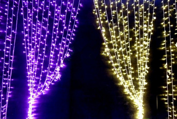 White String Christmas Lights.6m X 3m 600 Led Curtain Lights String Christmas Xmas Wedding White Warm White Blue Yellow Red Pink Purple Molticolor Blue L107 Lantern String Lights