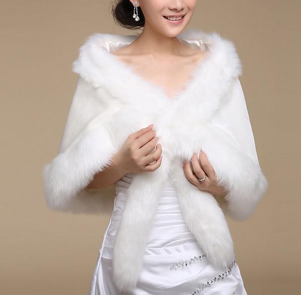 In Stock Custom Made New Style Wedding Wraps Bridal Bolero Wedding Dresses Accessories Bride Capes