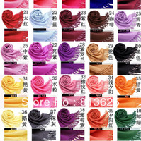 pashmina acryl schal großhandel-10 %% off 5 teile / los 2016 Mode Frauen Pashmina Acryl Lange Schal womans schals herren schal 40 Farben Drop verschiffen