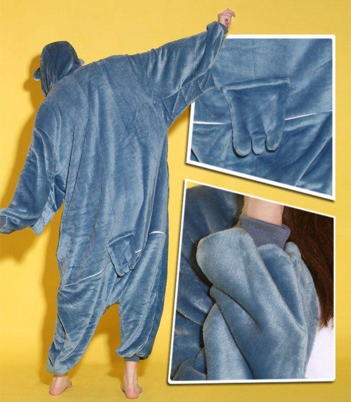 Cartoon Tier Eule Unisex Erwachsene Flanell Onesies Onesie Pyjamas Kigurumi Overall Hoodies Nachtwäsche für Erwachsene Willkommen Großhandel Auftrag