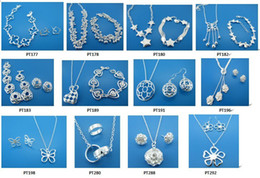 Discount track days - Free Shipping with tracking number BestMost Hot sell Women's delicate gift jewelry 925 silver plated mix jewelry se