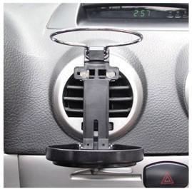 best selling New Design Multi fashion fan bottom Car Drink Holder Collapse water cup holder Beverage Racks color random