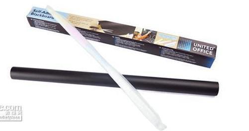 Lowes Price Fedex 45x200cm Stcik On Blackboard Chalkboard whiteboard sticker Wall Paper Sticker Decor Removable
