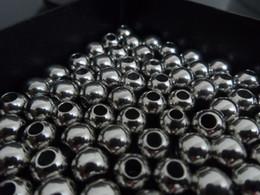 Опт 4 мм / 6 мм / 8 мм блестящие шарики из нержавеющей стали Ювелирные изделия найти DIY 100 ШТ. БЕСПЛАТНЫЙ КОРАБЛЬ