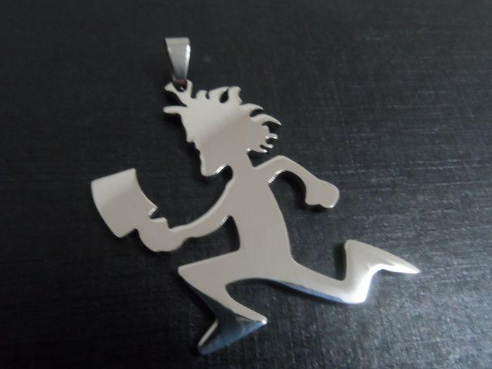Oro / plata de calidad superior grande ICP HATCHETMAN encantos de acero inoxidable joyería hacha hombres estilo