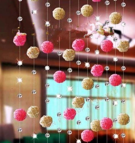3 cm 1.2 inch Diameter Creative rattan ball for Christmas Wedding Decoration home Ornament craft supplies