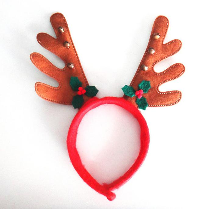 Christmas Reindeer Antlers Headband Asst Costume Christmas Party ...