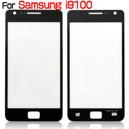 Wholesale S2 Screen Replacement - Front Outer Screen Glass Lens Touch Screen Cover Repair Parts Replacement For Samsung Galaxy S2 i9100 i777