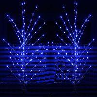 Wholesale Christmas Tree Window Decoration - LED holiday lights 1.2 m Wishing Tree Christmas tree lights wedding wedding creative window decoration