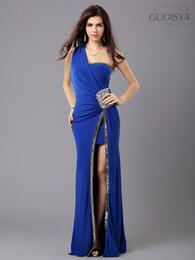 Ingrosso Nuovo arrivo formale abito da ballo colorato in rilievo lungo 3 colori abiti da sera 4 taglia S-M-L-XL