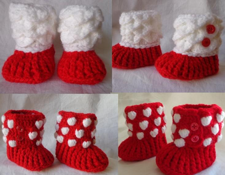 Crochet Baby Girl Shoes