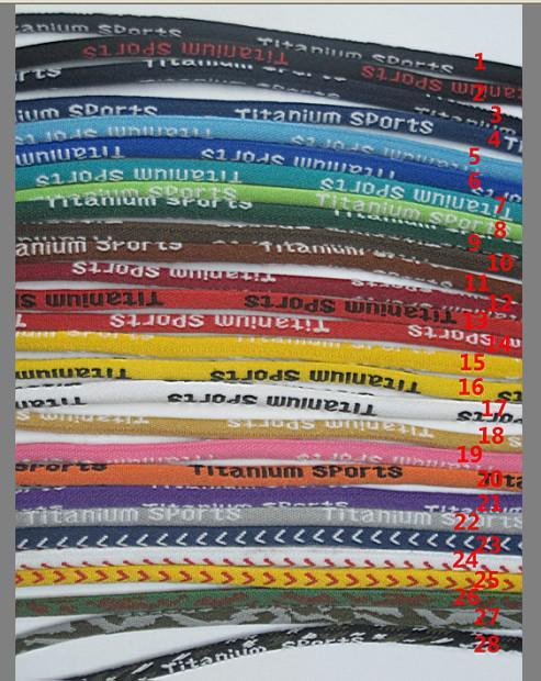 Al por mayor - Nuevo collar de béisbol Sports Titanium 3 cuerda trenzada Sport GT collar es