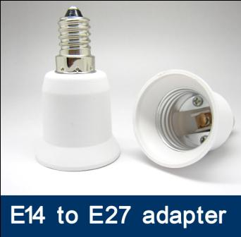 E14 to E27 adapter SES to ES adapter LED Light Lamp adapter lamp holder adaptor E27/ES to E14/SES converter adapter socket