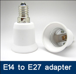 100 / lot SES zu ES adapter LED Licht Lampe E14 zu E27 lampenhalter adapter E27 / ES zu E14 / SES konverter adapter buchse adapter