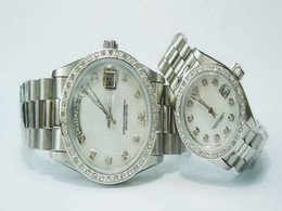 Wholesale Silver Diamond Men - with gift brand new Date Diamond bezel Mechanical cheap High quality Automatic master Fashion men watch luxury sports Men's Watches