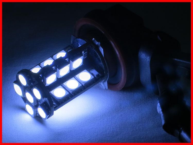 100x H11 30SMD 5050 Canbus LED incorporado 12V Conducción de automóviles Lámpara antiniebla Cabeza Luz 6K Xenón Blanco Error Libre Cancelador Resistor Brillante Mejor calidad