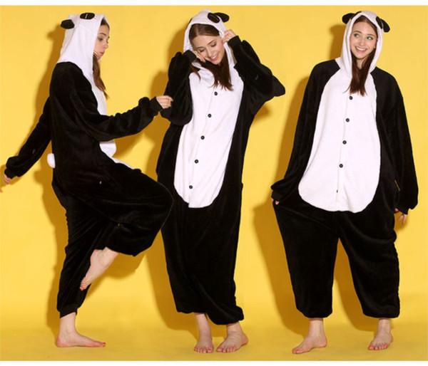 top popular Animal Bear Unisex Adult Flannel Onesies Pajamas Kigurumi Jumpsuit Hoodies Sleepwear Cosplay For Adults Welcome Wholesale Order 2020