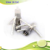 cabezal de reemplazo iclear 16 al por mayor-Innokin Original iClear 16 Dual Coil Reemplazable Cabezal de repuesto al por mayor