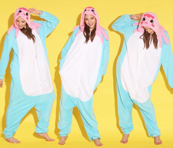 best selling Animal Octopus Unisex Adult Flannel Onesies Pajamas Kigurumi Jumpsuit Hoodies Sleepwear Cosplay For Adults Welcome Wholesale Order