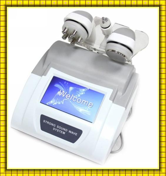 nuova testa di lavoro laser 5-1 Ultrasuoni Liposuzione Cavitazione Tripolare Mulipolare Radio frequenza macchina 110v-220v