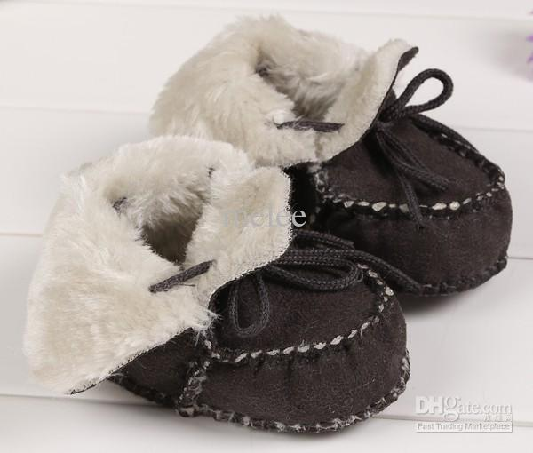 Big Discount Winter Baby Walking Shoes Infant First Walking Leather Boots Children's Boot Baby 100% Handmade Shoes 0-1T,for choose