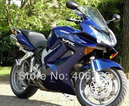 honda vfr interceptor fairings NZ - Free shipping,02-08 ABS Fairing kit For Honda Interceptor VFR800 2002-2008 Blue Motorcycle Fairings vfr 800 for sale Free shipping