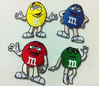 Wholesales 40 Pieces mixed colors High Quality Cartoon M&M C...