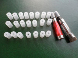 t2 mouthpiece Promo Codes - 10pcs Atomizer caps test drip tip Test Hole Tips E Smoker mouthpiece testing ce4 silicon cover for CE4 ce5 vivi nova T2 clearomizer