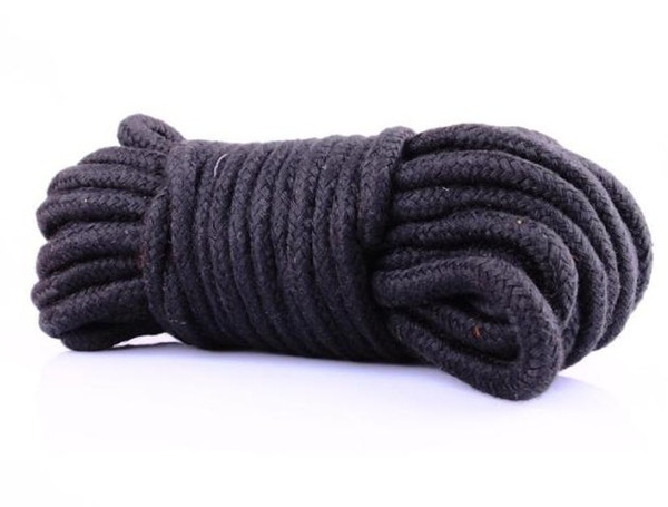 best selling 33FT Sex product Cotton rope bound bondage BDSM game black rope sex toys 3 colors available