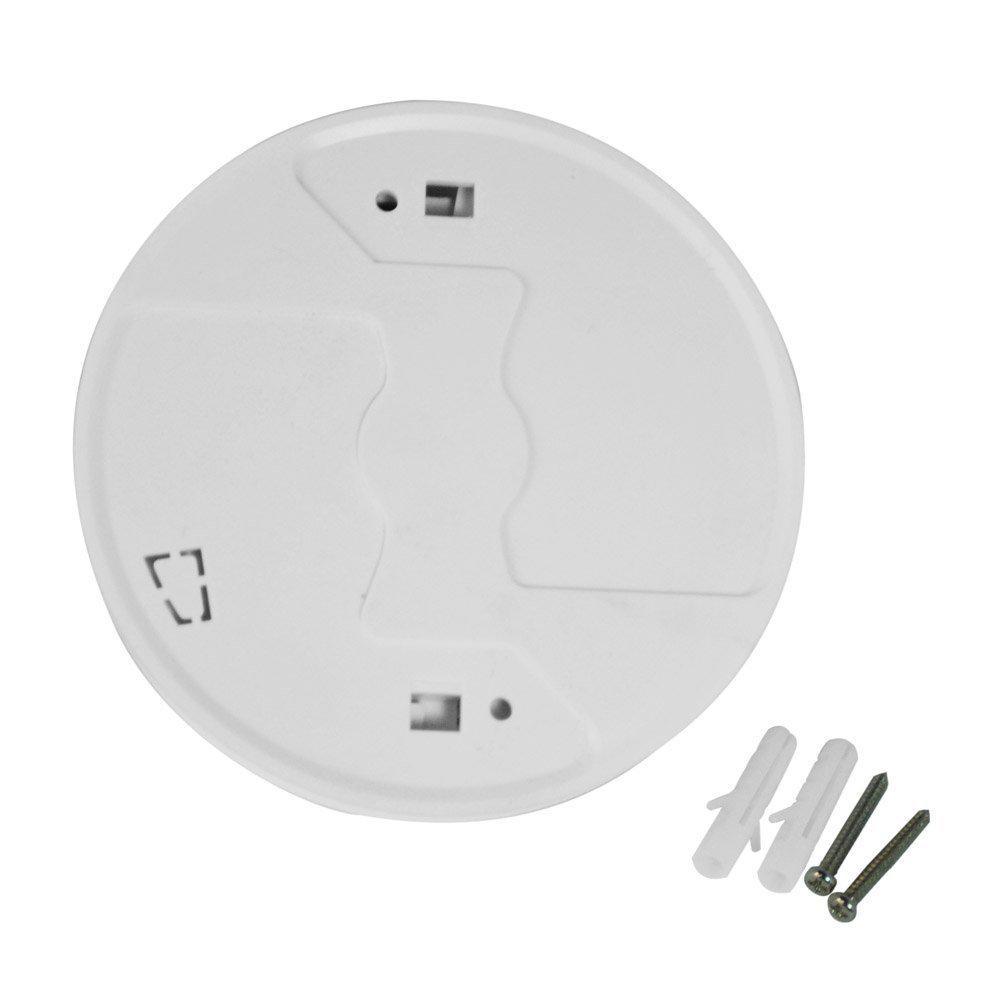 Alarma de advertencia de humo inalámbrico Detector del sensor de la cocina en el hogar Seguridad de seguridad Alarma de trabajo con batería de 9 V