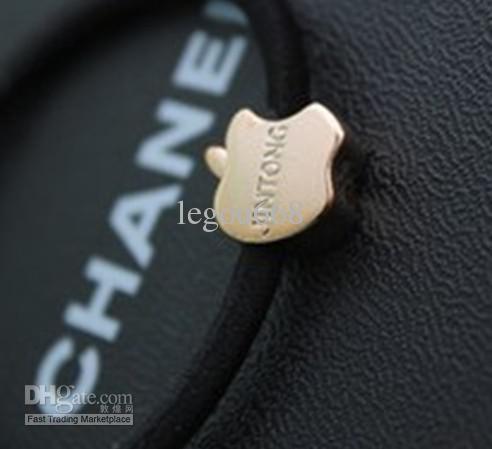 Heißes koreanisches Haar Schmuck hohe elastische Multi-Stil schwarz Gummiband kostenloser Versand