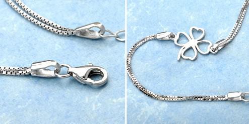 MXZA 4リーフクローバーブレスレット女性レディースハンドジュエリーCZダイヤモンド925スターリングシルバーバングルブレスレット