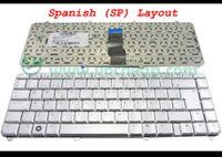 Wholesale Hp Keyboard Spanish Laptop - New Laptop keyboard for HP Pavilion dv5 dv5-1000 Series Silver SP SPanish version - 9J.N8682.J0S
