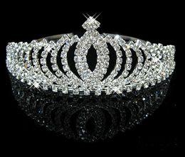 Wholesale Sample Headband - Wholesale - 2017 In Stock Royal Crowns Shiny Crystals Real Sample Bridal Wedding Tiara Tiaras Hair Accessories