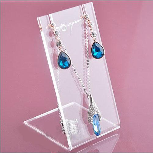 High Quality Acrylic Stud Earring Stand Jewelry Holder Necklace
