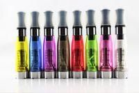 elektronik sigaralar ego t cartomizer toptan satış-DHL Elektronik Sigara eGo CE4 Atomizer ortak Clearomizer CE4 Cartomizer Siyah Yuvarlak Ağız Adet Uzun 510 eGo-T eGo-C eGo-W için Fitilleri