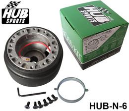 Wholesale Nissan Racing - High Quality N-6 Racing Steering Wheel Hub Adapter Boss Kit for Nissan Universal HUB-N-6 Have In Stock
