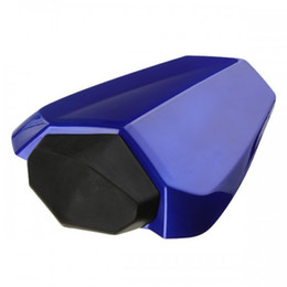 Wholesale R1 Rear Seat - motorcycle rear seat cowl rear seat cover pillion passenger seat cushion for Yamaha YZF1000 R1 2009-2010 blue